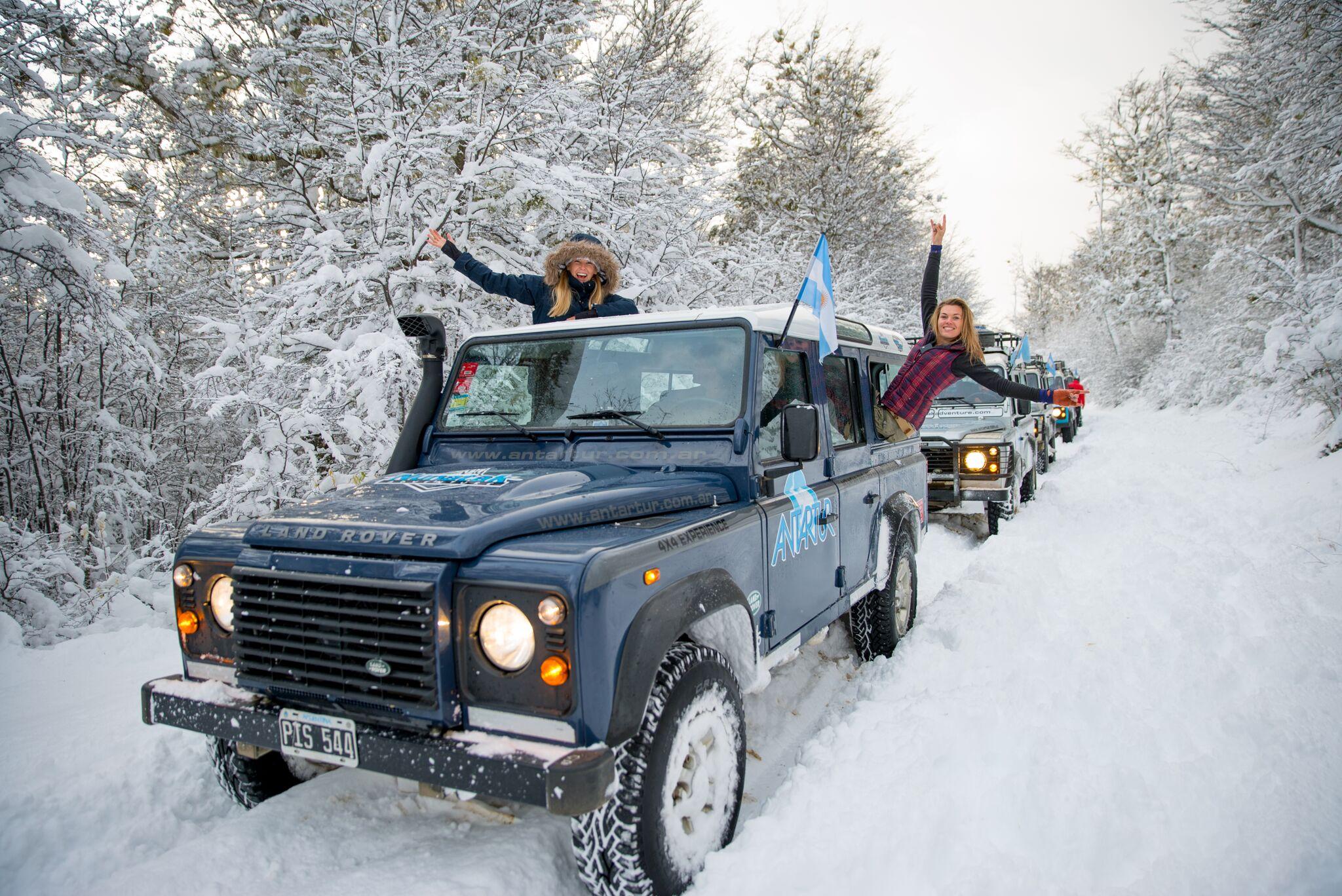 Off-roading in Ushuaia/Tierra del Fuego