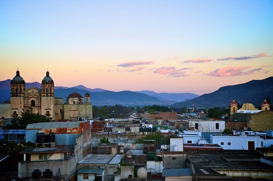 oaxaca skyline