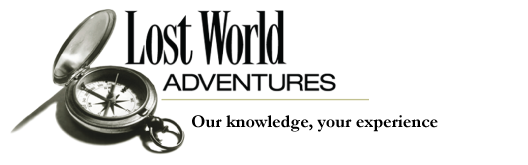 Lost World Adventures Logo