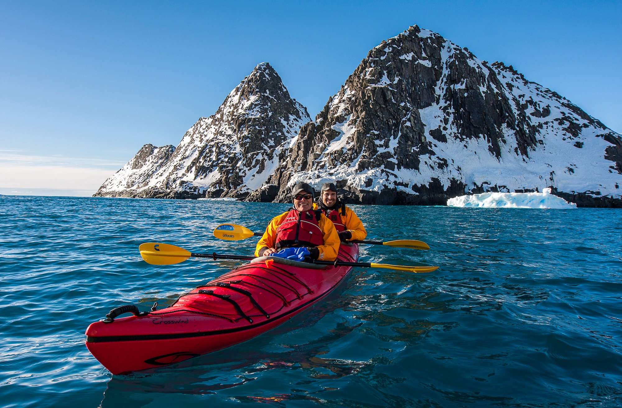 There's a new way to travel to Antarctica: the air-cruise