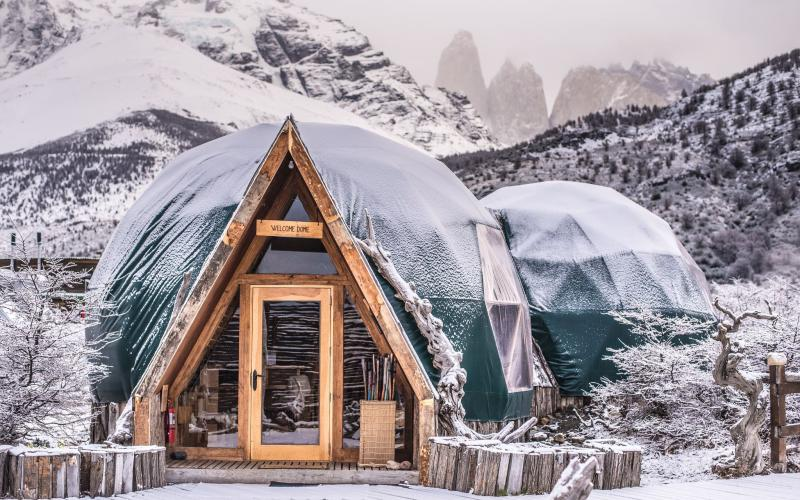 EcoCamp Patagonia is now open for Chile's winter season